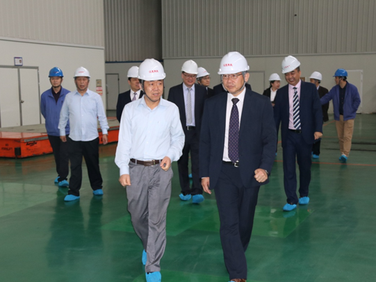 Mr. Wen Zhongzhong, Dean of Engineering College of Hong Kong Polytechnic University, visited the company for guidance.